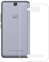 S Case Back Cover for Micromax Canvas Juice 3 Q392(Transparent, Rubber)