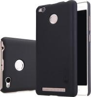 Byenow Back Cover for Mi Redmi 3S Prime(BLACK, Plastic)