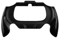 Microware Back Cover for Sony PS Vita 2000(Black, Cases with Holder, Plastic)