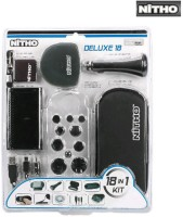 Nitho Back Cover for Play Station(Black, Charging Case)