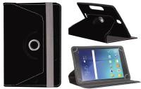 Jkobi Flip Cover for Dell Venue 7 3730(Black, Leather)