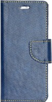 Gizmofreaks Flip Cover for Micromax Canvas Mega 4G Q417(Blue, Artificial Leather)