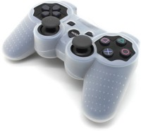 TCOS Tech Sleeve for Playstation 3 PS3 Controller(White, Silicon)