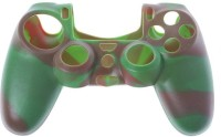 TCOS Tech Sleeve for Playstation 4 PS4 Controller(Camo - Green+Brown, Silicon)