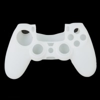 TCOS Tech Sleeve for Playstation 4 PS4 Controller(White, Silicon)