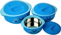 Cello Hot Meal Insulated Pack of 3 Thermoware Casserole Set(500 ml, 1500 ml, 850 ml)