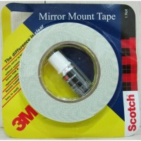 3M Super Series Double Sided with Primer Double Sided tape (Manual)(Set of 4, White)