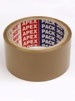 Apex Brown Tape Single Sided Glue (Manual)(Set of 5, Brown)