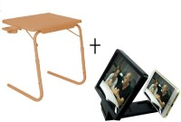 Tablemate TABLEMATE Adjustable Portable Folding Laptop Kid Study Mate With 3d screen enlarge Beige Changing Table