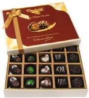 Chocholik Beautiful 20 Pc Mix Assorted Box Of Chocolate Truffles(240 g)