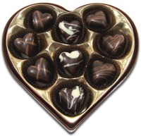 Chocholik Delightful Hearts Chocolate Truffles(108 g)