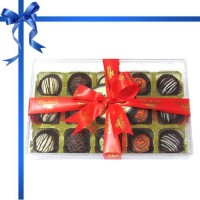 Chocholik 15 Pieces Exotic Collection Of Chocolate Truffles(210 g)