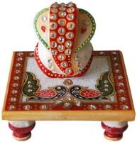 Raj Laxmi Marble All Purpose Chowki(Multicolor, Pack of 1)