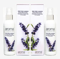 Aroma Treasures Skin pure Cleanser 100ml (Pack Of 2)(200 ml)