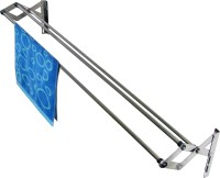 Rainbow Drywell 3 Pipes 4 Feet Minimiser Stainless Steel Wall Cloth Dryer Stand(Steel, Pack of 1)