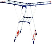 MTR Carbon Steel Floor Cloth Dryer Stand(White)