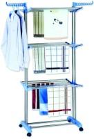 MTR Carbon Steel Floor Cloth Dryer Stand(Multicolor)