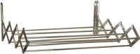 ARSH Rack Stainless Steel Wall Cloth Dryer Stand(Steel, Pack of 1)