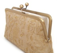 Saint Pure Party Gold  Clutch