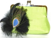 Saint Pure Casual Green  Clutch
