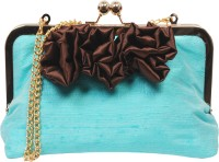 Saint Pure Formal Blue  Clutch