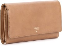 Fossil Women Casual, Formal Brown  Clutch