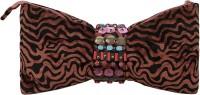 Miruna Designs Casual Brown, Black  Clutch