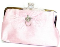 Saint Pure Formal Pink  Clutch