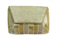 Kawaii Women Gold  Clutch