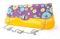 SV Casual Yellow  Clutch