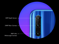Honor 20i (Phantom Blue, 128 GB, 4 GB RAM)