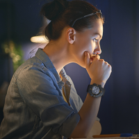 Lenovo Ego Black Smartwatch