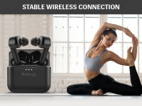 Bluetooth 5.0 connection of LAVA Probuds Bluetooth Headset