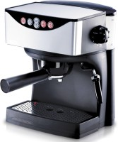 Redmond RCM-1503, 15 bar pressure Espresso Capuccino 2 cups Coffee Maker(Black)