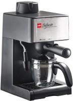 cello infusio 4 cups Coffee Maker(Black, Steel)