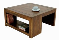 View Ringabell Solid Wood Coffee Table(Finish Color - High Glossy Melamine Finish) Furniture (Ringabell)