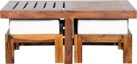 View Ringabell Perk Solid Wood Coffee Table(Finish Color - Teak) Furniture (Ringabell)