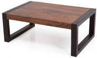 View Urban Ladder Altura Solid Wood Coffee Table(Finish Color - Two-tone) Furniture