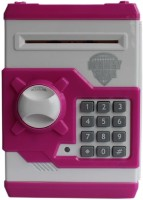 STSVENT 001pink Coin Bank(Pink, White)
