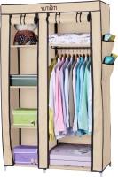 View Yutiriti Fancy & Portable Aluminium Collapsible Wardrobe(Finish Color - Cream) Price Online(Yutiriti)