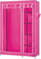 View Novatic Carbon Steel Collapsible Wardrobe(Finish Color - Pink) Furniture (Novatic)