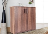 View Durian OPERA Particle Board Collapsible Wardrobe(Finish Color - Dark Birch) Price Online(Durian)
