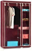View Anything & Everything Carbon Steel Collapsible Wardrobe(Finish Color - Maroon) Furniture (Anything&Everything)