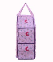 View SRIM SMC0035 Cotton Collapsible Wardrobe(Finish Color - Pink) Price Online(SRIM)