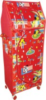 View Childcraft PP Collapsible Wardrobe(Finish Color - RED) Price Online(Childcraft)