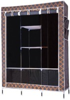 View MSE Carbon Steel Collapsible Wardrobe(Finish Color - Black) Furniture (MSE)