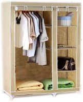 View Elite Mkt Jute Collapsible Wardrobe(Finish Color - Cream) Price Online(Elite Mkt)