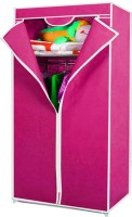 View Kawachi Carbon Steel Collapsible Wardrobe(Finish Color - Pink) Furniture