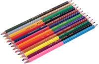 Faber-Castell Bi Colour Pencils Pencil(Set of 12, Multicolor)