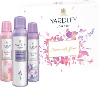 Yardley London Assorted Women Body Spray Tri Pack Combo Set(Set of 3)